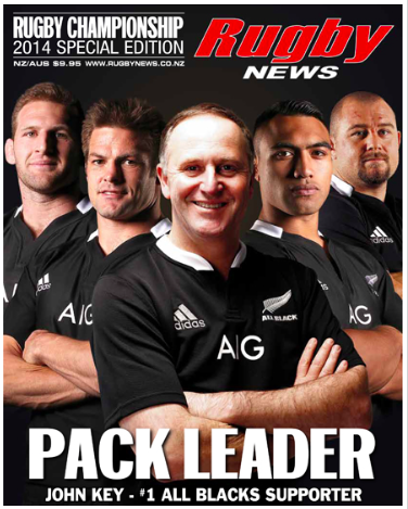 John Key Rugby News